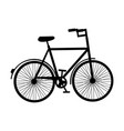 antique bicycle isolated icon