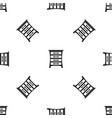 chest of drawers pattern seamless black vector image vector image