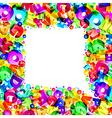 font bubble3 vector image vector image