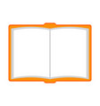 isolated empty notebook icon vector image
