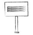 protest banner isolated icon vector image vector image