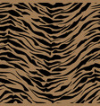 realistic safari pattern background tiger animal vector image vector image