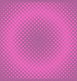 retro halftone diagonal square background pattern vector image vector image