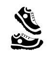 Womens sneakers icon simple style vector image vector image