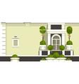 gardening of balconies vector image vector image