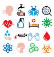 infection virus sickness getting flu - health vector image vector image
