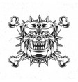 isolated emblem vector image vector image