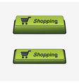 key shopping vector image vector image
