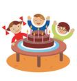 Birthday children party vector image