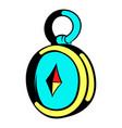 compass icon icon cartoon vector image