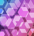 Bokeh blur with violet background vector image
