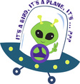 An Alien vector image vector image