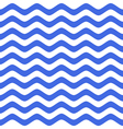 blue wavy chevron seamless pattern vector image
