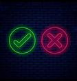 bright neon signs vector image vector image