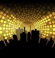 city celebration vector image vector image