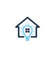 home idea logo icon design vector image vector image