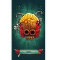Jungle shamans mobile GUI game loading screen vector image vector image
