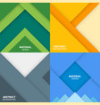 material design backgrounds vector image vector image
