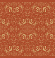 seamless floral patterns background vector image vector image