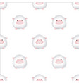 Seamless pattern with lambs cute animal backdrop