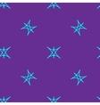 Stars geometric seamless pattern 1304 vector image vector image