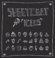 sweetmeat draw collection vector image