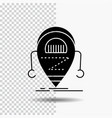 android beta droid robot technology glyph icon on vector image vector image