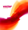 background with red blurred lines vector image vector image