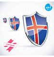 I Love Iceland Flag vector image vector image