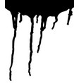 paint drips vector image vector image