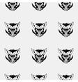 Pattern stencil boar headUnique technique Vintage vector image vector image