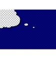retro cartoon pop art comic sign speech cloud vector image