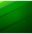 Abstract background with green paper layers vector image vector image
