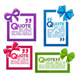 banner templates design looking like a ribbon vector image vector image