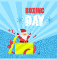 boxing day sale concept background flat style vector image vector image
