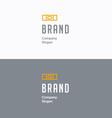 Brand logo 01 vector image vector image