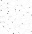 Connected Dots vector image
