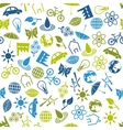 environment seamless pattern vector image vector image