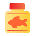 fish oil flat icon fish fat color icons in trendy vector image vector image