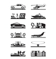 Luxury goods vehicles and property vector image vector image