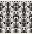 seamless pattern concentric bold circles vector image vector image