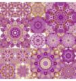 seamless tile pattern colorful lisbon vector image vector image
