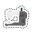 sewing machine isolated icon vector image