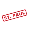 StPaul Rubber Stamp vector image vector image