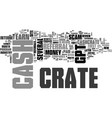 why cash crate is the best gpt site in the vector image vector image