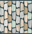 wood planks seamless pattern tree bark texture vector image
