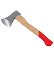 Ax isolated on white background Felling axe design vector image