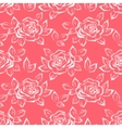 Flower Rose Low Poly Pattern vector image vector image