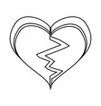 heart and love vector image vector image