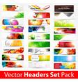 Huge Banner Set for Businesses vector image vector image